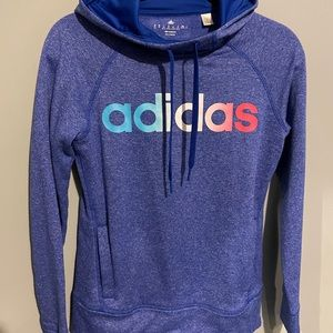 Adidas xs hoodie blue climawarm